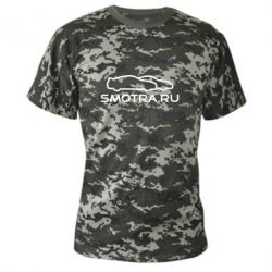 Камуфляжная футболка Smotra.ru - FatLine