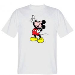 Мужская футболка Смотри вверх - FatLine