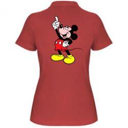Женская футболка поло Смотри вверх - FatLine