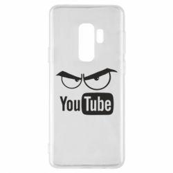 Чехол для Samsung S9+ Смотрю ютюб