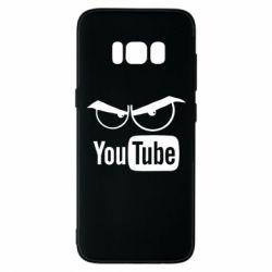 Чехол для Samsung S8 Смотрю ютюб