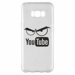 Чехол для Samsung S8+ Смотрю ютюб