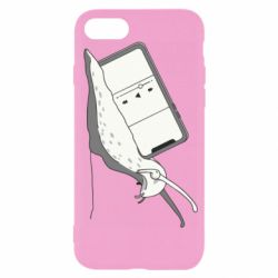 Чохол для iPhone 7 Snail and on the back player
