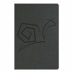 Блокнот А5 Snail minimalism