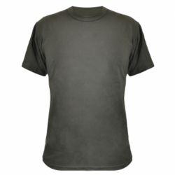 Камуфляжная футболка Snail minimalism