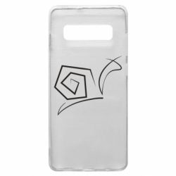 Чехол для Samsung S10+ Snail minimalism