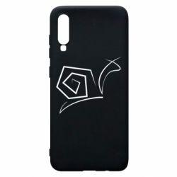 Чехол для Samsung A70 Snail minimalism