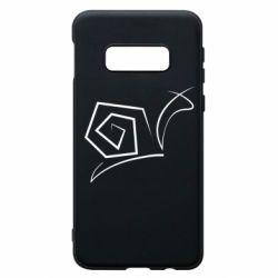 Чехол для Samsung S10e Snail minimalism