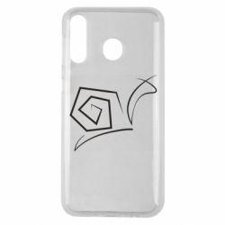 Чехол для Samsung M30 Snail minimalism