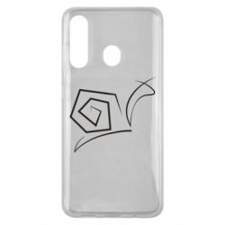 Чехол для Samsung M40 Snail minimalism