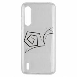 Чехол для Xiaomi Mi9 Lite Snail minimalism