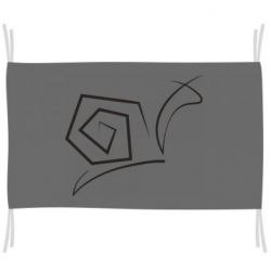 Прапор Snail minimalism