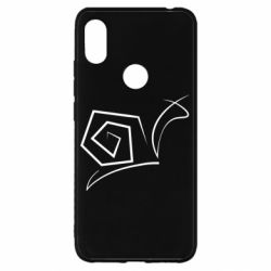 Чехол для Xiaomi Redmi S2 Snail minimalism