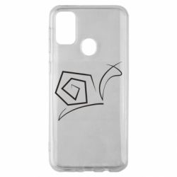 Чехол для Samsung M30s Snail minimalism