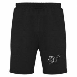Мужские шорты Snail minimalism