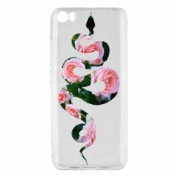 Чехол для Xiaomi Mi5/Mi5 Pro Snake and roses