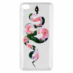 Чехол для Xiaomi Mi 5s Snake and roses