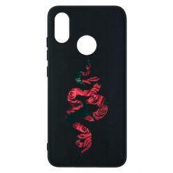 Чехол для Xiaomi Mi8 Snake and roses