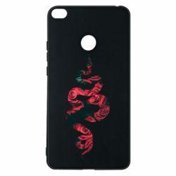 Чехол для Xiaomi Mi Max 2 Snake and roses