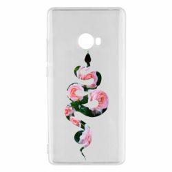 Чехол для Xiaomi Mi Note 2 Snake and roses