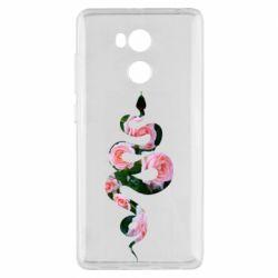 Чехол для Xiaomi Redmi 4 Pro/Prime Snake and roses