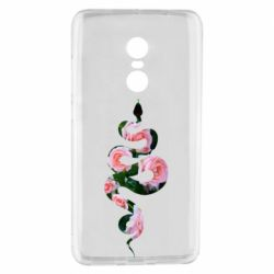 Чехол для Xiaomi Redmi Note 4 Snake and roses