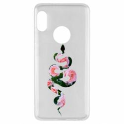 Чехол для Xiaomi Redmi Note 5 Snake and roses