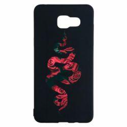 Чохол для Samsung A5 2016 Snake and roses