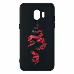 Чохол для Samsung J2 2018 Snake and roses