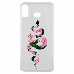 Чохол для Samsung A6s Snake and roses