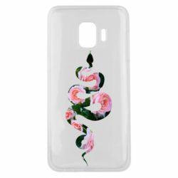 Чохол для Samsung J2 Core Snake and roses