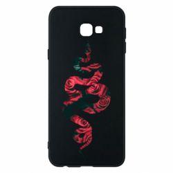 Чохол для Samsung J4 Plus 2018 Snake and roses
