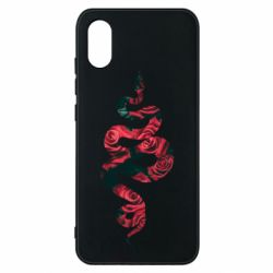 Чехол для Xiaomi Mi8 Pro Snake and roses