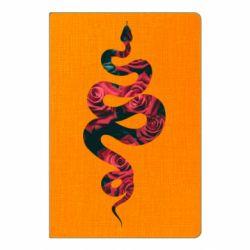 Блокнот А5 Snake and roses