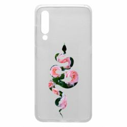 Чехол для Xiaomi Mi9 Snake and roses