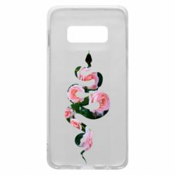 Чохол для Samsung S10e Snake and roses