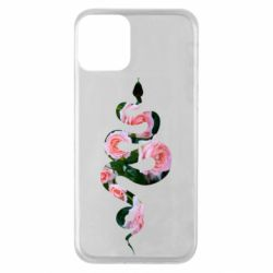 Чохол для iPhone 11 Snake and roses