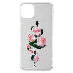 Чохол для iPhone 11 Pro Max Snake and roses