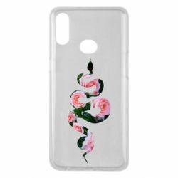 Чохол для Samsung A10s Snake and roses