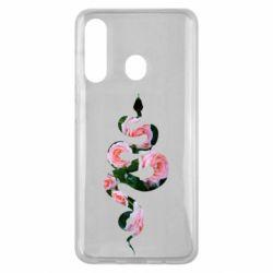 Чохол для Samsung M40 Snake and roses