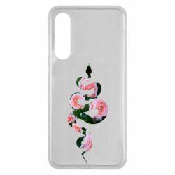 Чехол для Xiaomi Mi9 SE Snake and roses