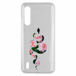 Чехол для Xiaomi Mi9 Lite Snake and roses