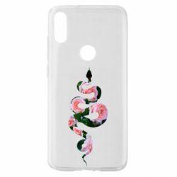 Чехол для Xiaomi Mi Play Snake and roses