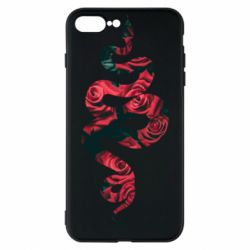 Чохол для iPhone 7 Plus Snake and roses