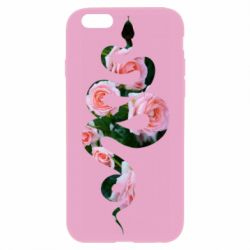 Чохол для iPhone 6/6S Snake and roses