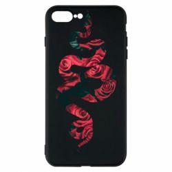 Чохол для iPhone 8 Plus Snake and roses