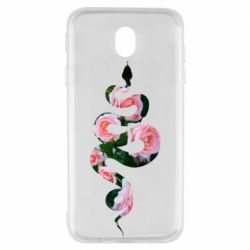 Чохол для Samsung J7 2017 Snake and roses