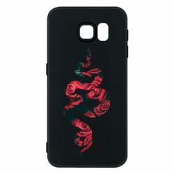 Чохол для Samsung S6 Snake and roses