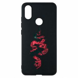 Чехол для Xiaomi Mi A2 Snake and roses