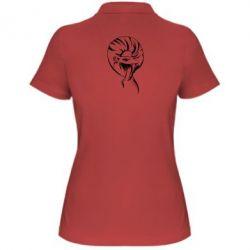 Женская футболка поло Snake